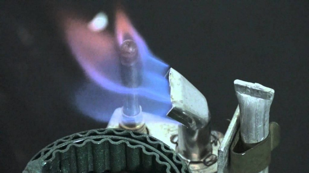 pilo light problem on gas system
