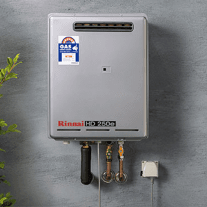 riannie new hot water installations